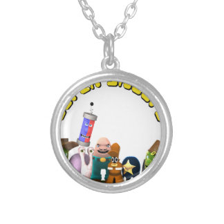 Super Snoops Jr. Detectives Silver Plated Necklace