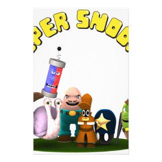 Super Snoops Jr. Detectives Stationery