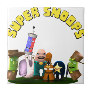 Super Snoops Jr. Detectives Tile