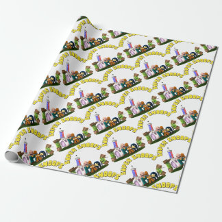 Super Snoops Jr. Detectives Wrapping Paper