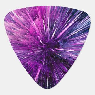 Super sonic - gorgeous purple guitar pick