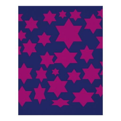 Super sonic stars. personalized letterhead