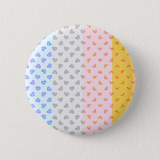 Super soul Party hearts 2 Inch Round Button