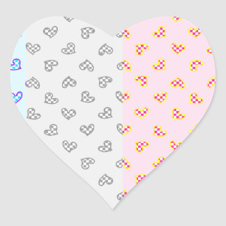 Super soul Party hearts Heart Sticker