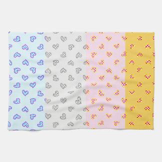 super soul party hearts kitchen towel