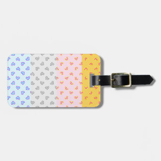 Super soul Party hearts Luggage Tag