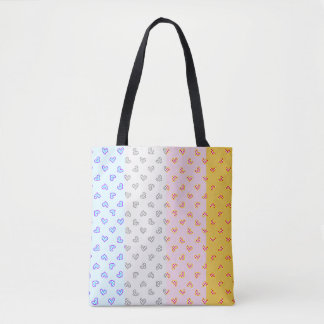 super soul party hearts tote bag