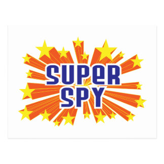 Super Spy Postcard
