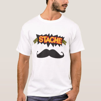 Super Stache Bros! T-Shirt