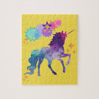 Super Star Galaxy Unicorn Jigsaw Puzzle