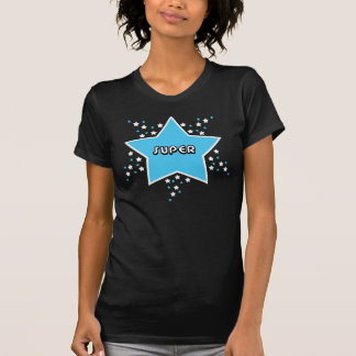 Super Star Shirt - Blue And Black Fitted Shirt