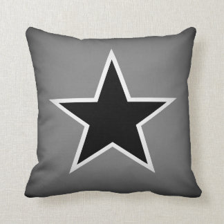 Super Star Special Throw Pillow Mono