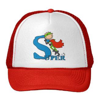 Super Stick Figure Hero Trucker Hat