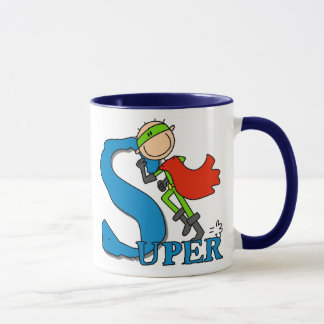 Super Stick Figure Hero Mug