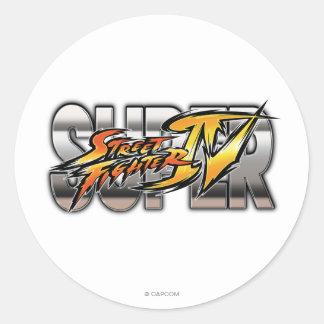 Super Street Fighter IV Logo Sticker