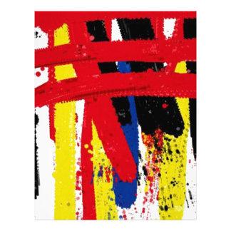 Super Stripes by RegiaArt Customized Letterhead
