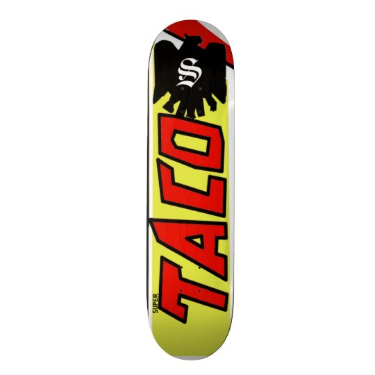 Super Taco (Tecate design) Skateboard