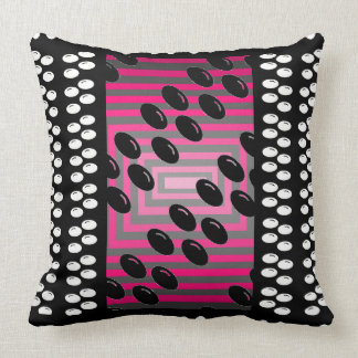 Super Techie Geeky Modern CricketDiane Throw Pillow