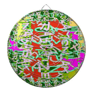 Super Techy Geek Digital Graphic Crazy Party gifts Dartboard With Darts