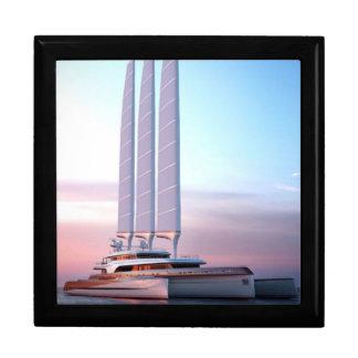 Super trimaran yacht gift box