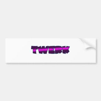 Super TWERK Bumper Sticker