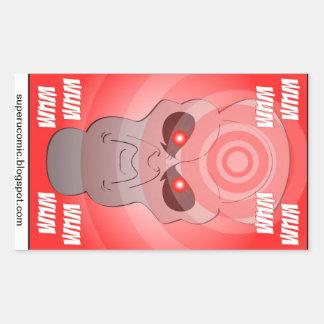 Super U. Alien Ghost Stickers! Sticker