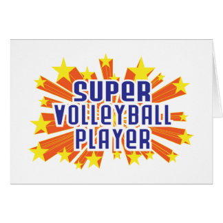 Super Volleyball Player Card