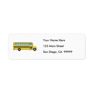 Super Yellow School Bus
