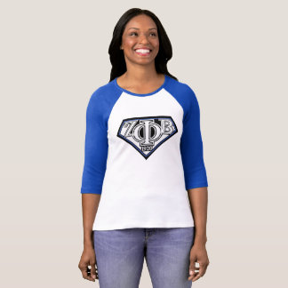 super zeta baseball style shirt