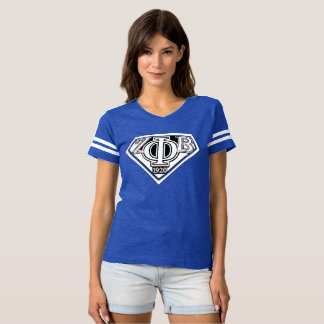 super zeta Blue T-shirt