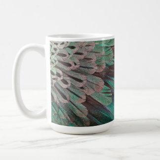 Superb Bird of Paradise feathers Coffee Mug