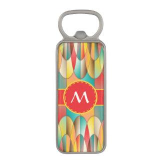 Superb colors magnetic bottle opener