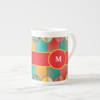 Superb colors tea cup