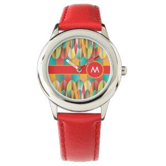 Superb colors wristwatch