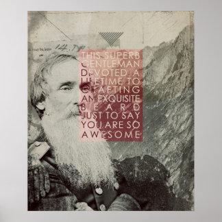 Superb Gentleman Poster