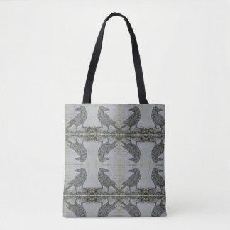 Superb Raven Tote Bag
