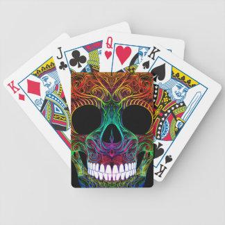 Superb Sugar Skull Dia De Los Muertos Candy Skull Bicycle Playing Cards