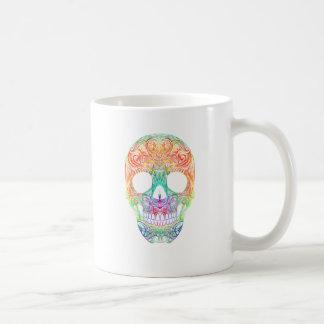 Superb Sugar Skull Dia De Los Muertos Candy Skull Coffee Mug