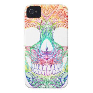 Superb Sugar Skull Dia De Los Muertos Candy Skull iPhone 4 Case