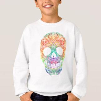 Superb Sugar Skull Dia De Los Muertos Candy Skull Sweatshirt