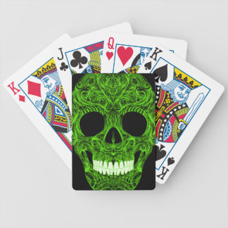 Superb Sugar Skull Dia De Los Muertos Day of the D Bicycle Playing Cards