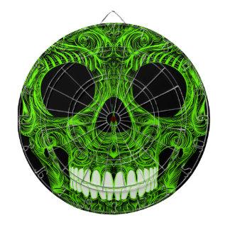 Superb Sugar Skull Dia De Los Muertos Day of the D Dartboard
