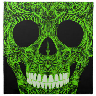 Superb Sugar Skull Dia De Los Muertos Day of the D Napkin