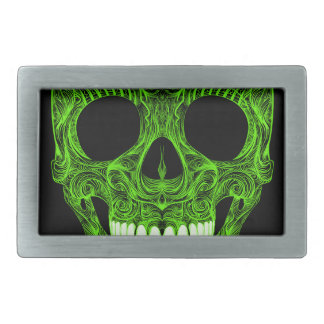 Superb Sugar Skull Dia De Los Muertos Day of the D Rectangular Belt Buckle