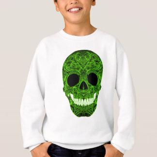 Superb Sugar Skull Dia De Los Muertos Day of the D Sweatshirt