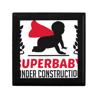 superbaby under construction gift box
