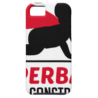 superbaby under construction iPhone 5 cases