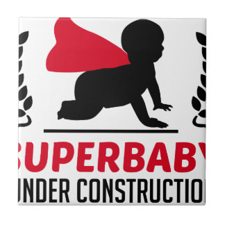 superbaby under construction tile