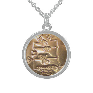 SuperBeacon Guidance & Information Sterling Silver Necklace