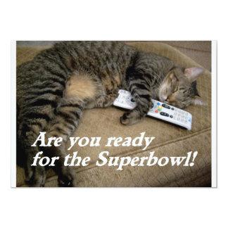 superbowl fun invite
